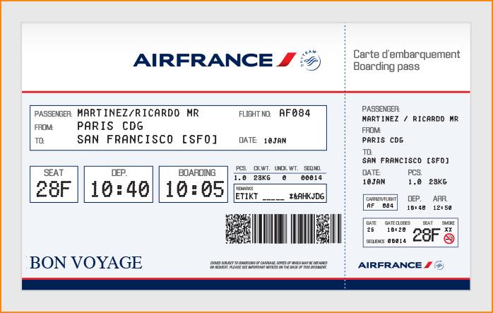 plane ticket template .