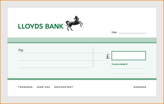 how to deposit a cheque lloyds bank