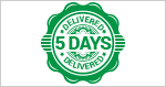 Big Cheques 5 Day Delivery