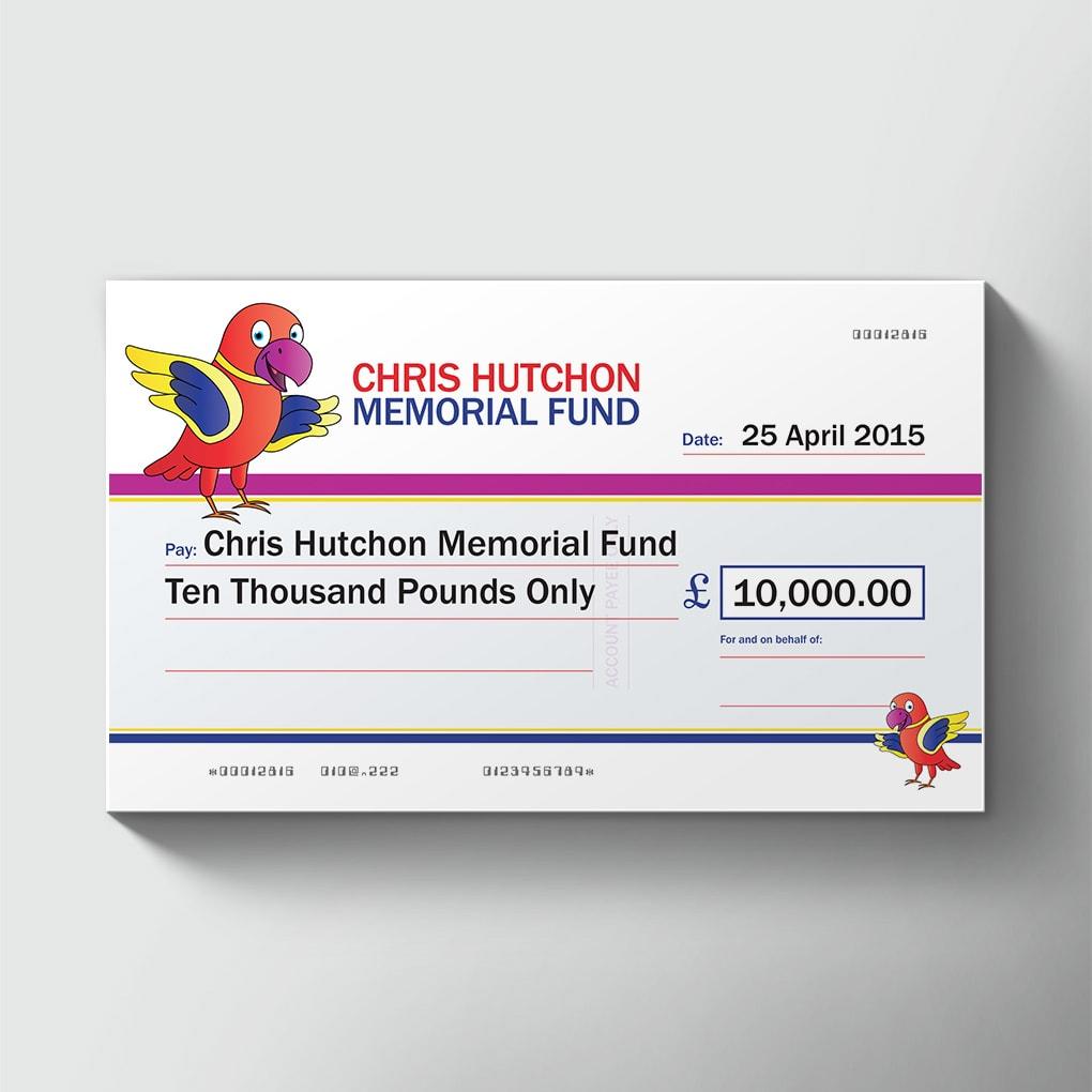 Cheques Chris Hutchon