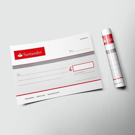 big-cheques-paper-santander