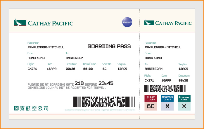 Boarding pass codes  what they mean and why SSSS is